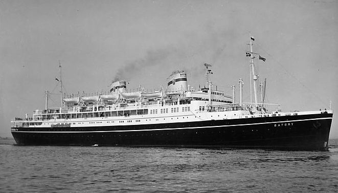 "The motorship ""Batory"" was one of two diesel-powered ships completed ..."