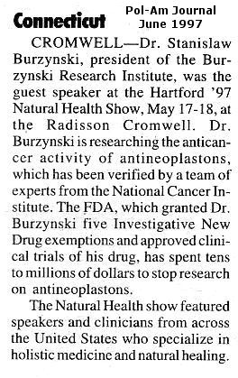 [Burzynski Article]